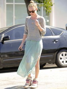 transparent skirts are in for 2012!
