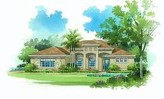 Lennar Homes Arlington Oaks Fort Myers FL - Cypress Elevation 'C'