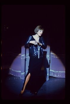 Barbra Streisand in Funny Girl on Broadway in 1964