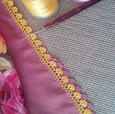 ŞİŞLE PIRPIRLI ÇİÇEK TIĞ OYASI YAPIMI | Nazarca.com Elsa, Tassels, Diy And Crafts, Crochet Necklace, Model, Cute Crochet, Crochet Lace, Ribbon Bows, Crochet Edgings