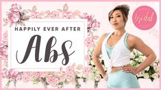 Welcome to the Blogilates Bridal Bootcamp! Your first video in this series focuses on your upper abs, lower abs, obliques and your waist. Why? When we work on your core, it not only helps tighten and strengthen your midsection, but it also helps you stand taller which makes you appear more confident! And don't you want to look and feel confident as you walk down the aisle? YES!  Every workout in the Blogilates Bridal Bootcamp is 10 minutes long with NO BREAKS. There are 10 moves that are…