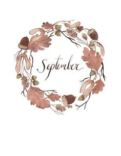 September Bullet Journal Ideas Needing the perfect September bullet journal ideas? We have you covered with these gorgeous examples and our favorite plan with me videos. Letras Cool, Corona Floral, Hello September, September Song, Sweet September, December, Bullet Journal Inspiration, Journal Ideas, Months In A Year