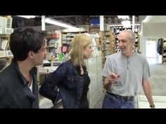 In the Studio with Susanna Salk and Peter Fasano - YouTube