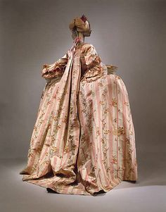 Dress (Robe à la Française) Date: 1775