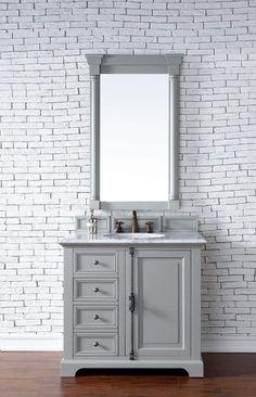 "Providence 36"" Single Vanity Cabinet, Urban Gray"