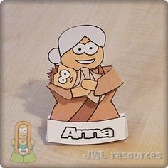 Anna clip art figure