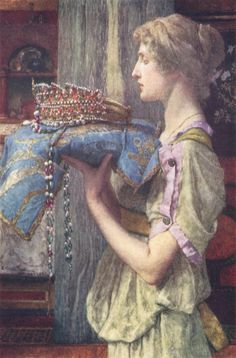 Sir Lawrence Alma-Tadema a crown