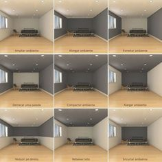 Dark room colors and lively wall color. - Dark room colors and lively wall color. Visually changed interior dimensions – dark room colors a - Interior Design Living Room, Living Room Designs, Interior Wall Colors, Office Paint Colors, Interior Design Tips, Interior Walls, Wall Paint Colors, Interior Painting, Home Painting Ideas