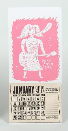 Yee Haw mini calendar. R.I.P. Yeehaw :-(