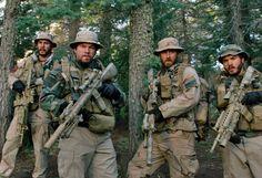 Taylor Kitsch, Mark Wahlberg, Ben Foster, & Emile Hirsch in Lone Survivor