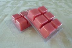 Strawberry Pure Soy Wax Melts Soy Melts by FroggyBottomCrafters, $3.50