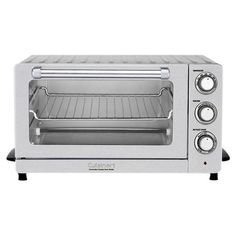 Cuisinart Stainless Steel Convection Toaster Oven at Lowe's. Cuisinart brings a classic approach to modern cooking with the new CounterPro Convection Toaster Oven Broiler. Industrial styling, four cooking options, Countertop Oven, Countertops, Stainless Steel Toaster, Convection Cooking, Oven Cooking, Cooking Tools, Specialty Appliances, Small Kitchen Appliances, Kitchen Gadgets
