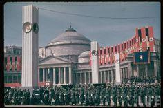 Trapped in Based world — dreikameraden: Hitler's first official visit to...