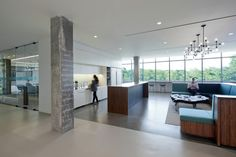 The kitchen is the heart of every office as well. Hain Celestial / a + i architecture