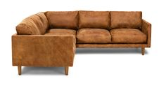 Nirvana Dakota Tan Corner Sectional - Sectionals - Article | Modern, Mid-Century and Scandinavian Furniture