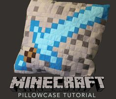 How to Make a Minecraft Pillowcase  #Minecraft