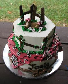 Elianas birthday- horse cake