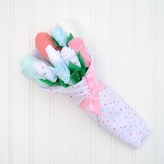 New Baby Flower Bouquet, Unique Baby Girl Gift Set - Baby Blossom Company Unique Baby Girl Gifts, Gifts For Newborn Girl, Baby Girl Gift Sets, Gifts For Girls, Baby Gifts, New Baby Flowers, Baby Bouquet, First Mothers Day Gifts, Welcome Home Gifts