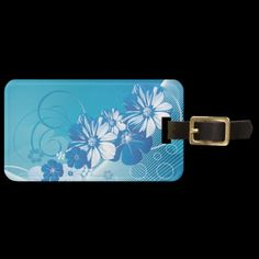 Shop Floral Fashion 10 Luggage Tags created by Ronspassionfordesign. Custom Luggage Tags, Standard Business Card Size, Leather Luggage, Floral Fashion, City Style, Travel Luggage, Baggage, Prints, Bags