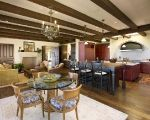 Tuscan hillside Kitchen by Allen Associates in Santa Barbara, Ca.