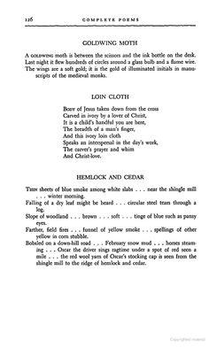 Carl Sandburg: Goldwing Moth (poetry)