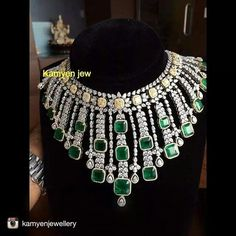 I had maximum droolage when I saw this jeweltastic piece from @kamyenjewellery Green emeralds & Yellow Diamonds
