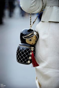 Chanel matryoshka clutch. Amazing!