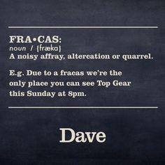 "Dave's response to Jeremy Clarkson's latest ""fracas"""