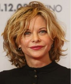 Short Curly Bob Hairstyle for Women Over 50