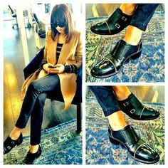 Rachel Zoe Graham zipper shoe Fall - love her outfit! Fashion Resume, Expensive Shoes, Outfit Combinations, Fall Shoes, Rachel Zoe, Classy And Fabulous, Fashion Stylist, Autumn Winter Fashion, Winter Style