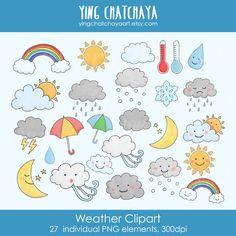 weather clip art rain clouds sun snow storm umbrella pinwheel clip rh pinterest com Snow Cloud Clip Art free snowstorm clipart