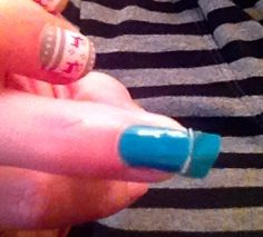 Beginner's Guide to Nail Art & Design | Excess Wrap should peel off, or else keep filing