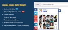 Joomla Social Tabs Module – perfect tool for Joomla Marketing - See more: http://virtuemartextensions.net/joomla-social-tabs-module-perfect-tool-joomla-marketing.html