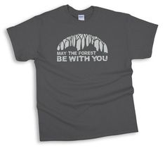 Our May the Forest Be With You Tee is selling out fast! Order yours today! Free Shipping and 10% off with coupon code CHESTNUT10  http://ss1.us/a/q48mFyjg
