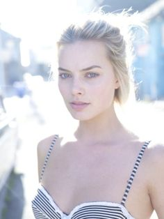 Margot Robbie. Possibly the world's most gorgeous woman. Watching Pan Am now because of her, haha!