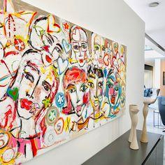 Curtains, Shower, Portrait, Prints, Instagram, Painting, Painting Art, Rain Shower Heads, Blinds