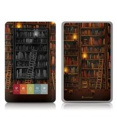 Decorative skin for the NOOK