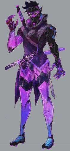 Sombra inspired Genji concept skin.... ULTIMATE SOMBRA GENJI SKIN HYBRAID AHHH