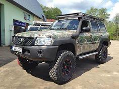 Nissan Patrol Y61 camo