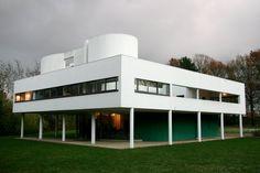Villa Savoye; Le Corbusier; Poissy, France; 1929.