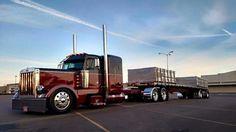 Clean and Classy Large Truck, Small Trucks, Big Rig Trucks, Semi Trucks, Cool Trucks, Custom Big Rigs, Peterbilt Trucks, Truck Camper, Diesel Trucks