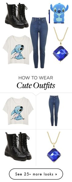 """Stitch outfit"" by eloehlrich on Polyvore featuring Mode und Nokia"