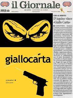 #cartacanta #giallocarta nei quotidiani di #Alessandria, dove risiede il vincitore dell'edizione 2014 Gianluca D'Aquino. www.cartacanta.it