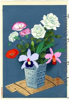 Flowers-Summer by Bakufu Ono