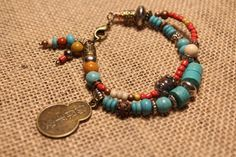 Southwest inspired double strand layering by MomentsofChaos