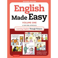 English Made Easy is a breakthrough in English language learning—imaginatively exploiting how pictures and text can work together to create understanding and help learners learn more productively. It gives beginner English learners easy access to the vocabulary, grammar and functions of English as it is actually used in a comprehensive range of social situations.