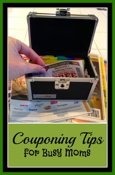 This is how to be a coupon mom at the grocery store. Great tips for beginners to start using coupons at the store and saving money the easy way. {Coupon Tips for Busy Moms}