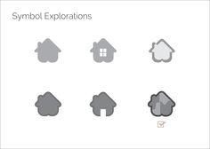 Symbol Explorations for logo designs