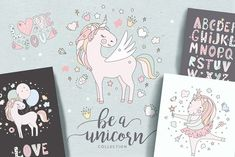 Magical collection of unicorns by Peace ART on Pencil Illustration, Graphic Illustration, Illustrations, Unicorn Graphic, Pen Collection, Peace Art, Love To Meet, Creative Sketches, Paint Markers