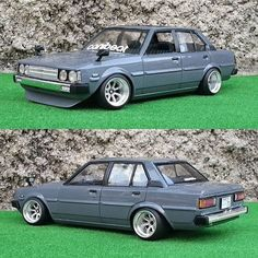 My Toyota Corolla. 1/24 scale model kit by Aoshima. #static365 #stancegang #lowerclasslove ...